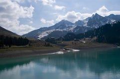 kuhtai de l'Autriche Photo libre de droits