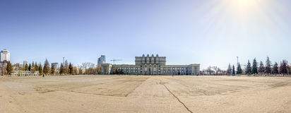 Kuibyshev Square in Samara Stock Images