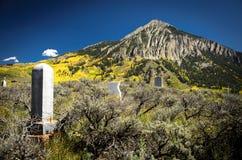 Kuif Butte Begraafplaats 1 Royalty-vrije Stock Foto's