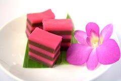 KUih lapis- malaysian dessert Royalty Free Stock Photography