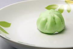 Kuih Pau or Chinese steamed bun Stock Photography