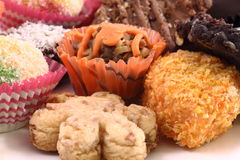 Kuih Raya biscuit Royalty Free Stock Images