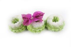 Kuih Seri Ayu - dolce tradizionale malese Fotografia Stock Libera da Diritti