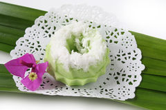 Kuih Seri Ayu - dolce tradizionale malese Fotografie Stock