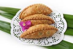 Kuih Seri Ayu - Malajski tradycyjny tort Obraz Stock