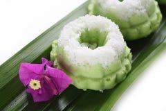 Kuih Seri Ayu - Malajski tradycyjny tort Zdjęcia Stock