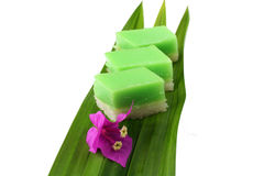 Kuih Seri Muka Royalty Free Stock Photo
