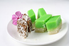 Kuih Seri Muka Stock Photos