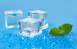 Kuiki ice background Stock Photography