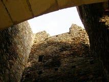 Kuil van neamtuluipoorten van ruïnes de oude cetarea Royalty-vrije Stock Afbeeldingen