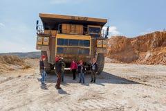 Kuipermijn - Open kuil 9 Stock Foto
