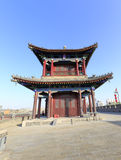 Kuixing pavilion on the xian circumvallation Royalty Free Stock Photography