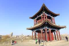 The kuixinglou pavilion on the xian circumvallation Royalty Free Stock Photo