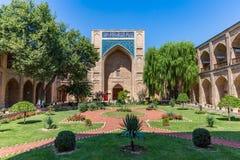 Kukeldash Madrasah,在塔什干,乌兹别克斯坦 库存照片