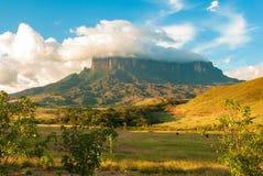 Kukenan Tepui, Gran Sabana, Venezuela Fotografie Stock Libere da Diritti
