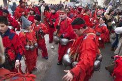 Kuker festival Breznik, Bulgaria Royalty Free Stock Images