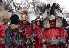 Kuker festival Breznik, Bulgaria Royalty Free Stock Image