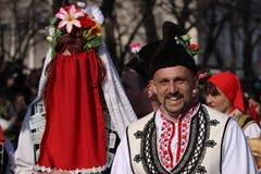 Kuker festival Bulgaria Royalty Free Stock Photo
