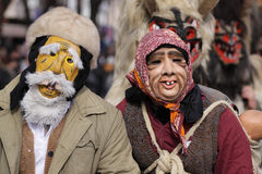 Kuker festivalBulgarien Arkivfoto