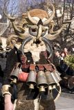 Kukeri. Masquerade feast in Pernik, Bulgaria Stock Photography