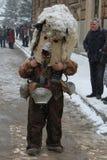 Kukeri traditional Bulgarian ritual Stock Photo