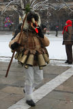Kukeri traditional Bulgarian ritual Stock Images