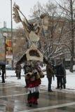 Kukeri traditional Bulgarian ritual Royalty Free Stock Photography