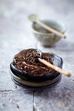 Kukicha Twig Tea Royalty Free Stock Image