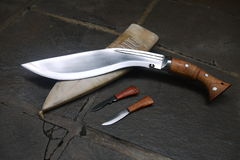 Kukri Royalty Free Stock Photo
