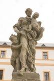 KUKS,CZECH REPUBLIC - SEPTEMBER 21.2015:,Allegory, M. B. Braun 1718-1720,  September 21.2015  Kuks, Czech Republic Stock Image