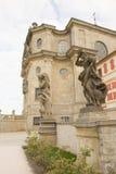 KUKS,CZECH REPUBLIC - SEPTEMBER 21.2015:,Allegory, M. B. Braun 1718-1720,  September 21.2015  Kuks, Czech Republic Royalty Free Stock Image