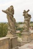 KUKS,CZECH REPUBLIC - SEPTEMBER 21.2015:,Allegory, M. B. Braun 1718-1720,  September 21.2015  Kuks, Czech Republic Royalty Free Stock Photography