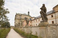 KUKS,CZECH REPUBLIC - SEPTEMBER 21.2015:,Allegory, M. B. Braun 1718-1720,  September 21.2015  Kuks, Czech Republic Stock Photography
