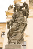 KUKS,CZECH REPUBLIC - SEPTEMBER 21.2015:,Allegory, M. B. Braun 1718-1720,  September 21.2015  Kuks, Czech Republic Royalty Free Stock Photo