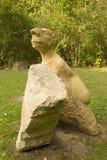 KUKS,CZECH REPUBLIC - SEPTEMBER 21.2015:,The Gallery of Modern Sculpture in the countryside,  September 21.2015  Kuks, Czech Repub Royalty Free Stock Images