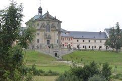 Kuks hospital in Czech Republic. Kuks hospital , Nachod,  in Czech Republic Stock Image