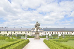 Kuks hospital in Czech Republic. Kuks hospital , Nachod,  in Czech Republic Royalty Free Stock Photo