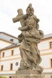 KUKS, TSJECHISCHE REPUBLIEK - 21 SEPTEMBER 2015: , Allegorie, M B Braun 1718-1720, 21 September 2015 Kuks, Tsjechische Republiek Stock Fotografie