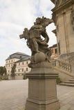 KUKS, TSJECHISCHE REPUBLIEK - 21 SEPTEMBER 2015: , Allegorie, M B Braun 1718-1720, 21 September 2015 Kuks, Tsjechische Republiek Royalty-vrije Stock Afbeeldingen
