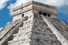 kukulcan пирамидка Стоковая Фотография