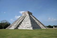 kukulcan pyramid för castilloel Fotografering för Bildbyråer