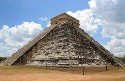 kukulcan tempel Fotografering för Bildbyråer