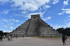 kukulkan пирамидка стоковые фото
