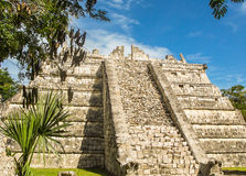 kukulkan pyramid Royaltyfria Foton