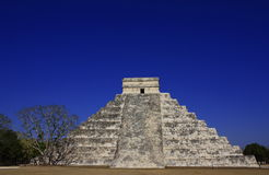 Kukulkan pyramid. As part of the ancient city of chichen itza, in yucatan, mexico Stock Images
