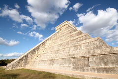 Kukulkan Pyramid Stock Photography