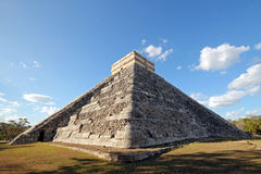 Kukulkan Pyramid in Chichén Itzá Royalty Free Stock Images