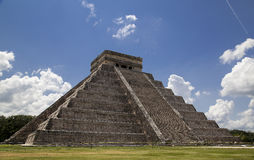 Kukulkan Pyramid Royalty Free Stock Photo