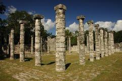 Kukulkan Pyramid, Chichen Itza. Mayan Temple at Chichen Itza, Mexico Stock Photo