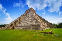 Kukulkan pyramid in Chichen Itza. Mexico Stock Image